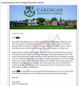cardigan mountain school